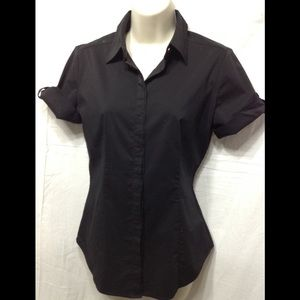 Women's size Small NEW YORK & CO stretchy blouse
